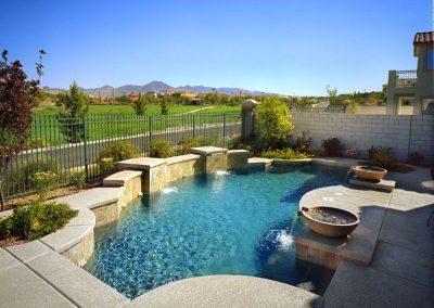 Modern pool designer in Phoenix