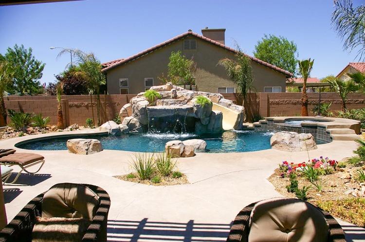 Phoenix grotto swimming pool