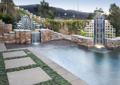 Phoenix landscape swimming pool