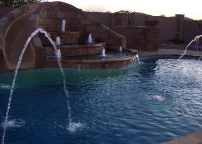 Phoenix modern pool design