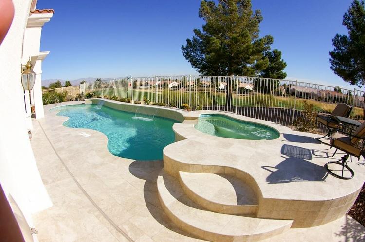 Phoenix pool coping edges