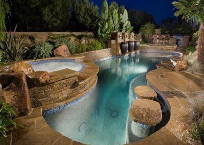 Phoenix pool tile mosaics