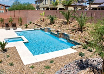 Phoenix pool tile waterline